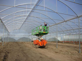 Jrc greenhouses homepage - Montage serre polycarbonate ...